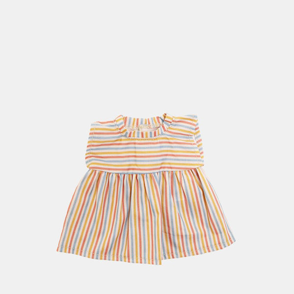 Dinkum Doll Liv Striped Dress
