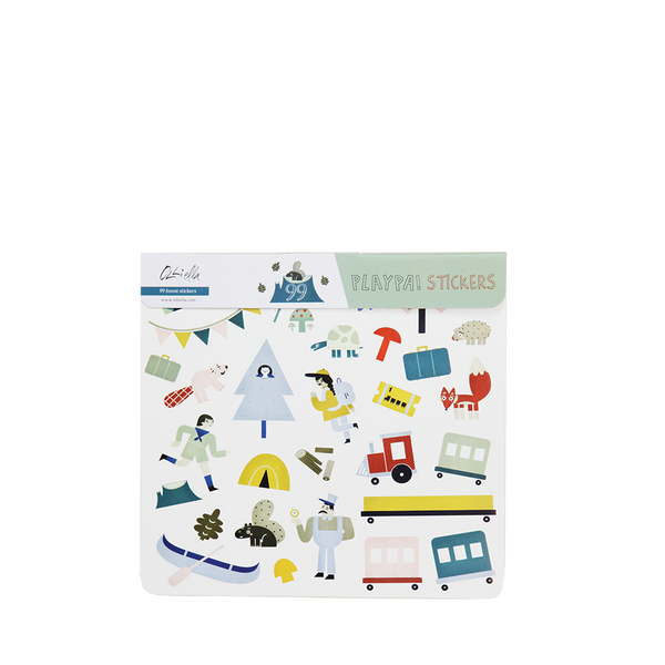 Playpa Stickers - Forest
