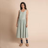 Organic Cotton Cassia Dress - Azure Harlequin