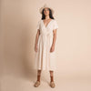Organic Cotton Tansy Dress - Milk