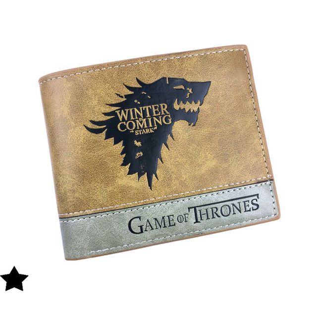 Wallet Game Of Thrones Stark Winter Is Coming The Bas Shop