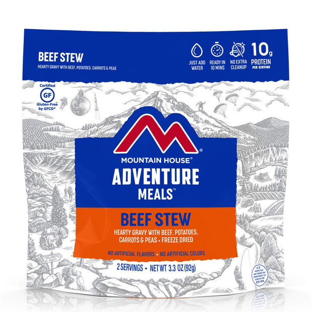 Beef Stew- Mountain House- Two Serving