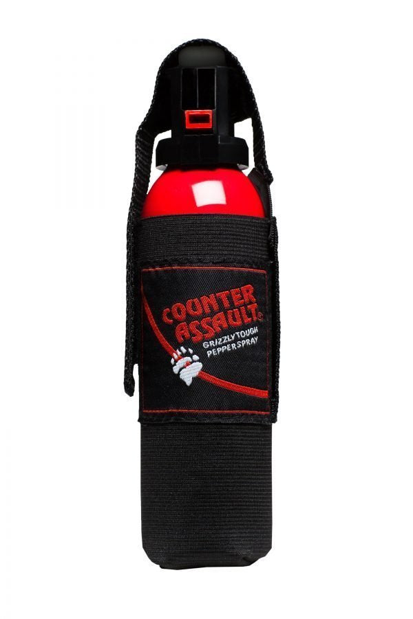 Bear Deterrent w/Holster by Counter Assault