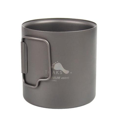 Titanium Double-Wall Cup 450ml by Toaks