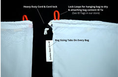 Fish Bags Large, Medium, Small - Sized for larger fish Kings, Silvers, Sockeye