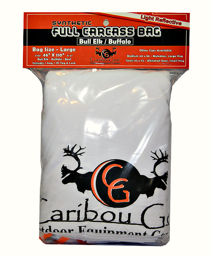 Full Carcass Game Bags for Whitetail Deer, Hog, Muledeer, Elk