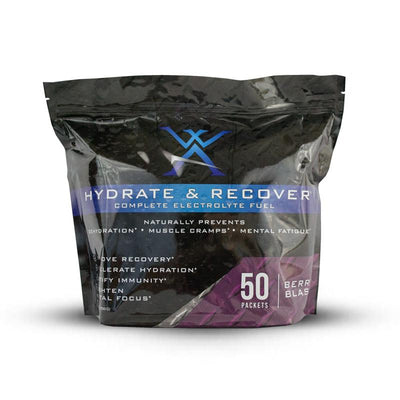 Hydrate and Recover 50 Packets- Wilderness Athlete