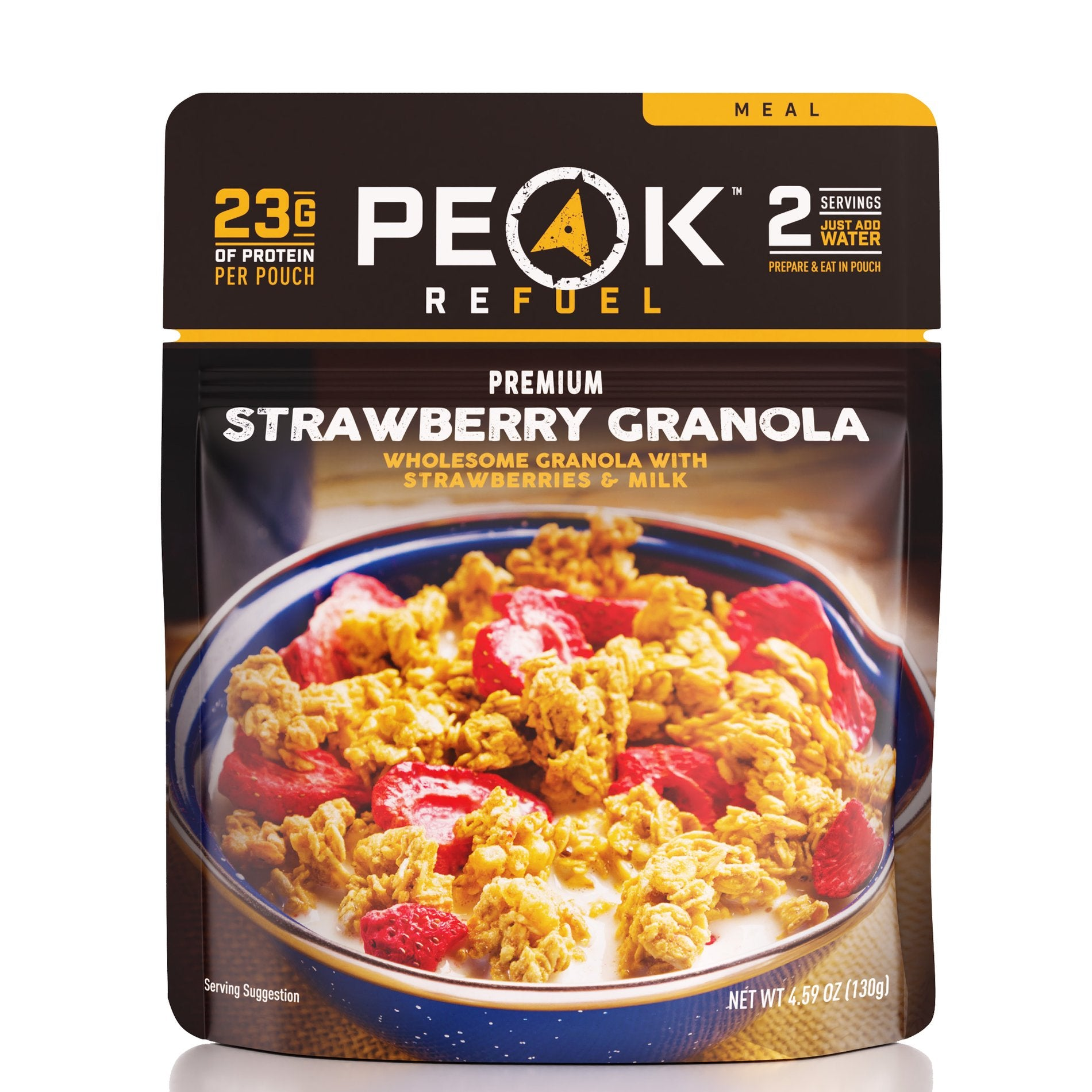 STRAWBERRY GRANOLA by Peak Refuel