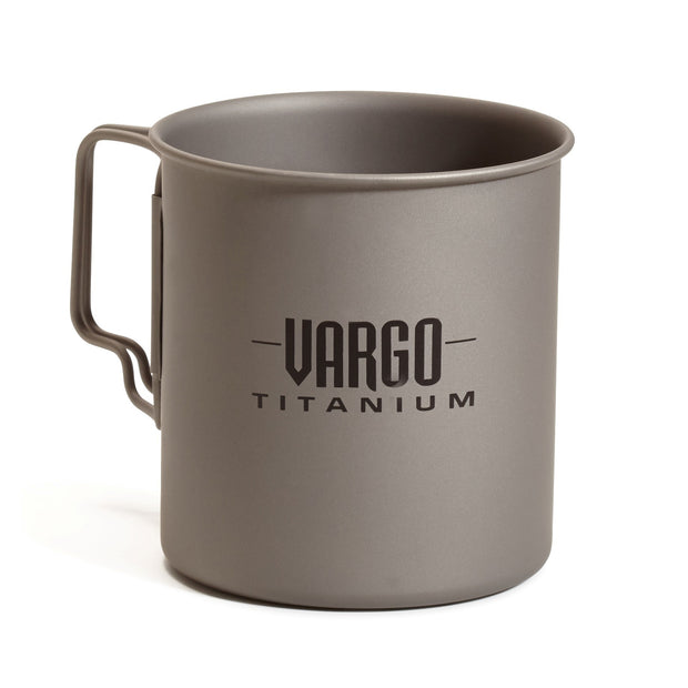 Titanium Pack Mug by Vargo