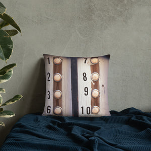 The Ursulines - French Quarter Doorbell Pillow