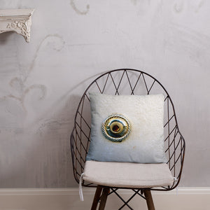 The Burgundy - French Quarter Doorbell Pillow