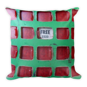 Vintage Bingo Card Double Sided Throw Pillow!