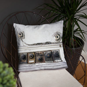 The Bienville - French Quarter Doorbell Pillow