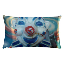 Vintage Clown Double Sided Throw Pillow #5 - Bozo and Country