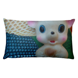 Vintage Toy Petite Mouse x2 Double Sided Throw Pillow!