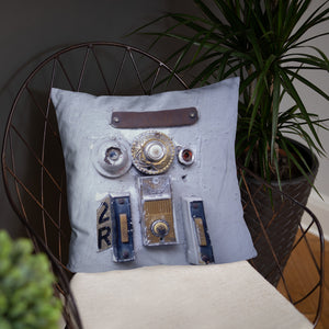 The Toulouse - French Quarter Doorbell Pillow