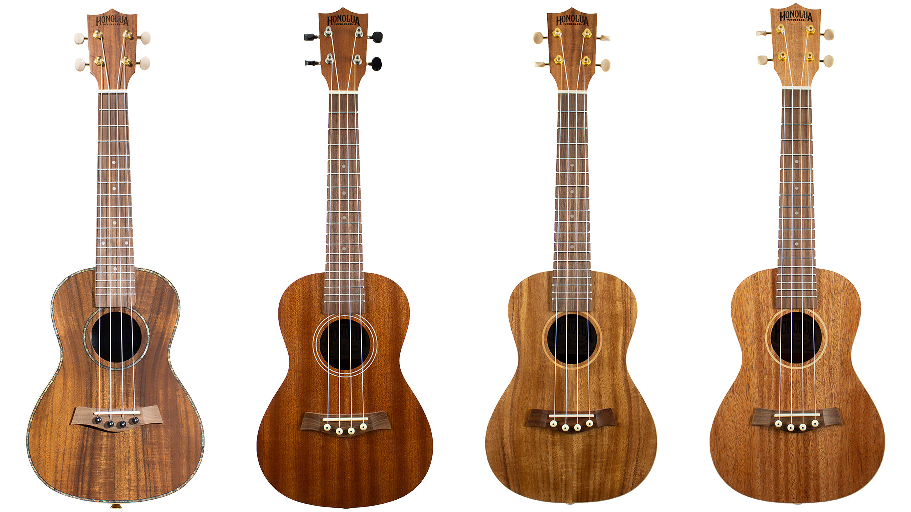 Tonewoods on Honolua Models