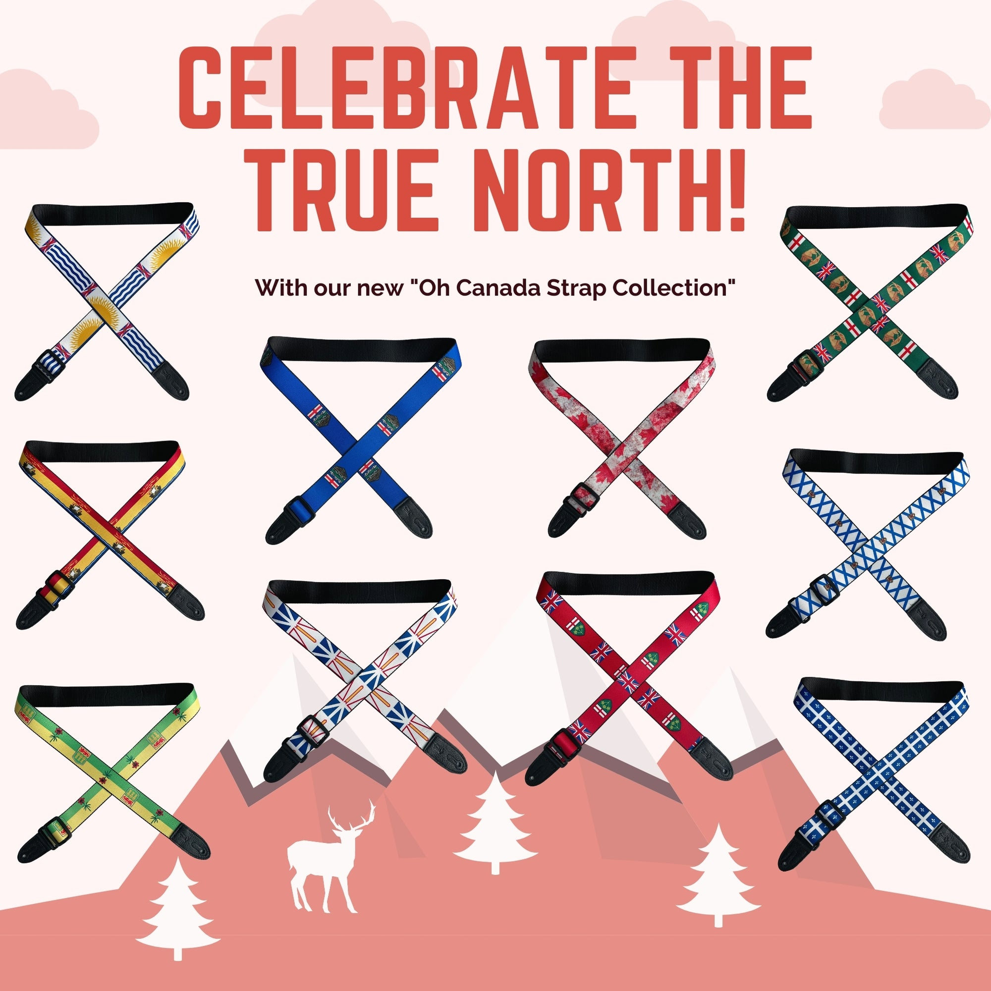Introducing the Oh Canada strap collection