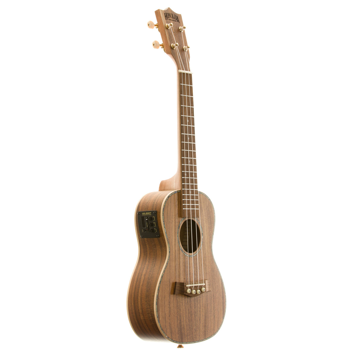 Kohala Deluxe Solid Top Concert Acoustic Electric Ukulele