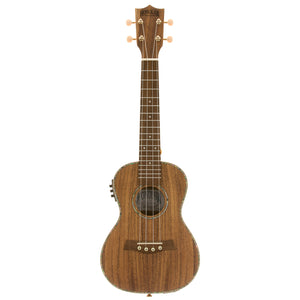 Honolua Ukuleles Kohala Deluxe Solid Top Concert Acoustic Electric Ukulele