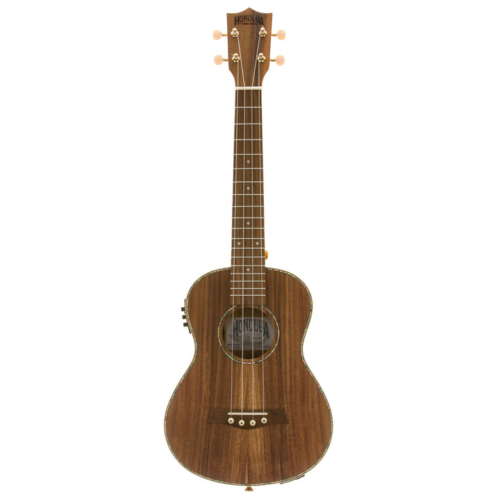 Honolua Ukuleles Kohala Deluxe Solid Top Tenor Acoustic Electric Ukulele