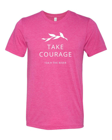 Take Courage Short Sleeve Tee