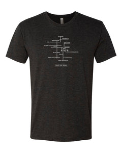 River Map Short Sleeve Tee