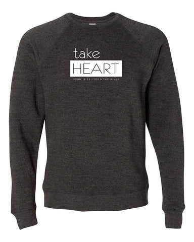 Take Heart Crewneck Sweatshirt
