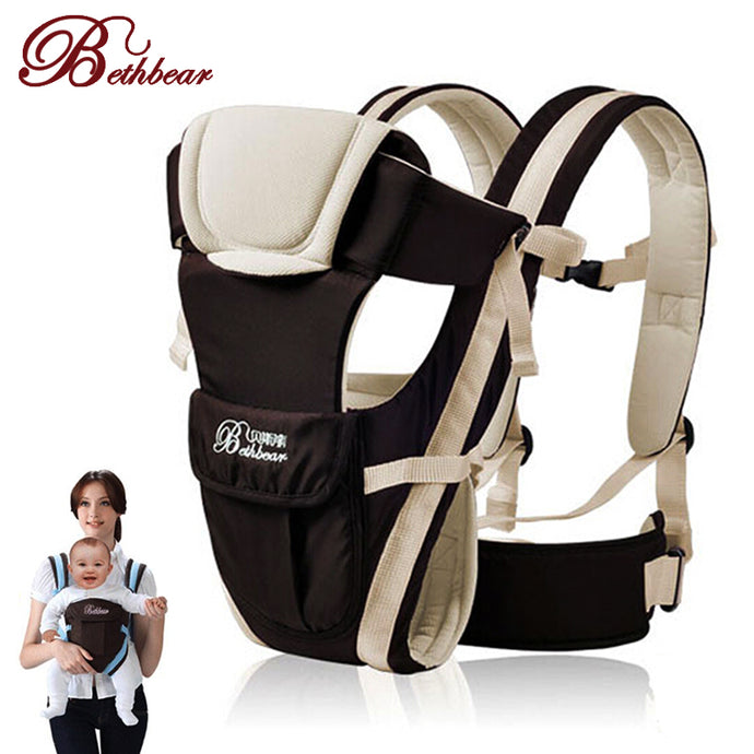 4 in 1 Comfortable Baby Carrier for Infants Between 0-30 Months