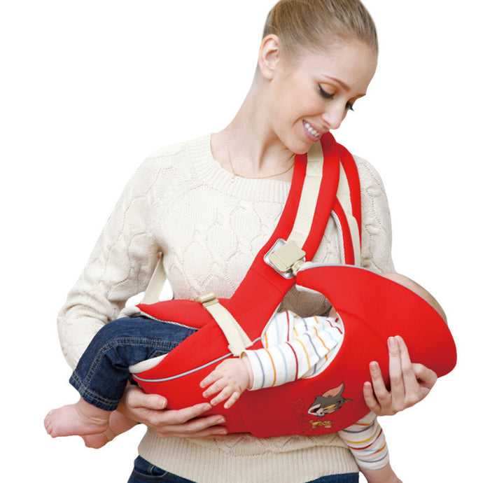 Ergonomic Baby Carrier with 4 Different Positions for Infants in age 0-24 Month