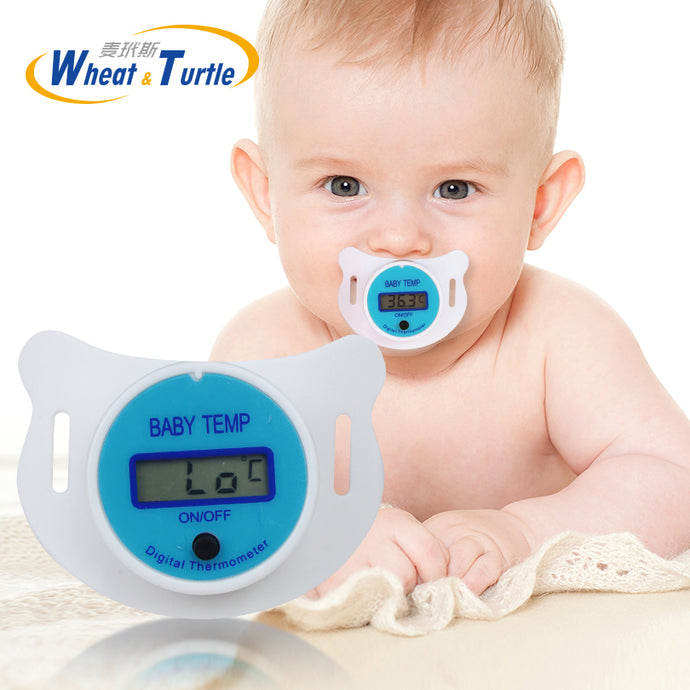 Pacifier as Digital Baby Thermometer