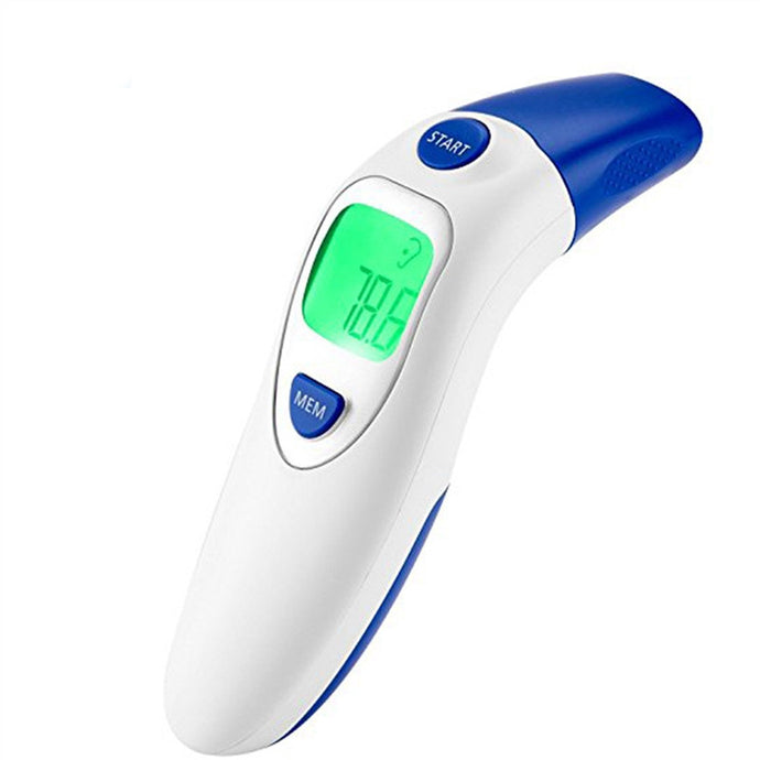 Digital Medical Infrared Forehead and Ear Thermometer for Baby (F and C units)