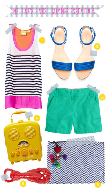 Ms. Fine's Finds : Summer Essentials