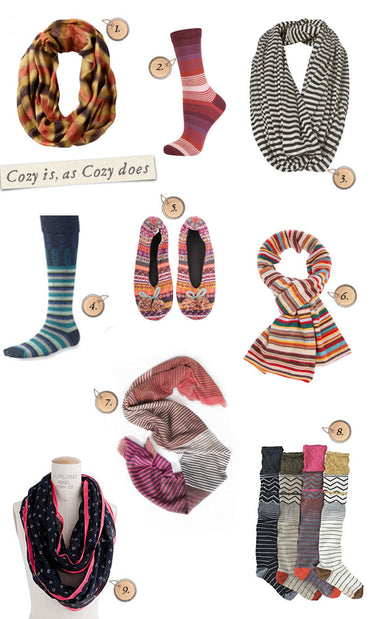 Cozy Up! - Style Board  (and a Winner!)
