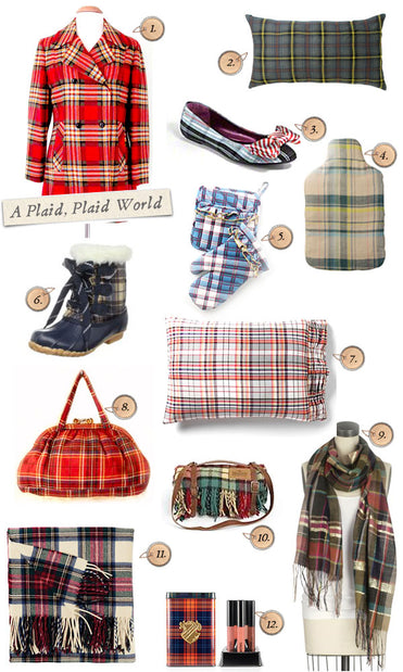 It's a Plaid, Plaid World - Style Board