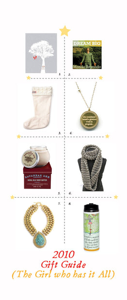 Holiday Gift Guide For: The Girl who has it All