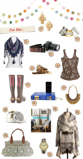 2011 Holiday Gift Guides: For Her
