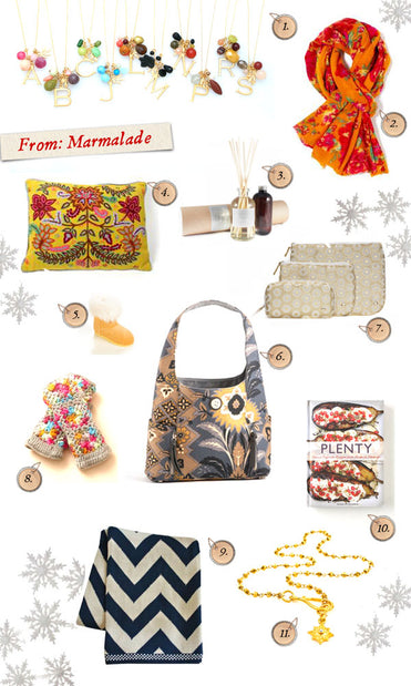 2011 Holiday Gift Guides: From Marmalade