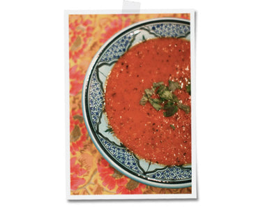 Mid-Autumn Roasted Reds and Tomato Soup