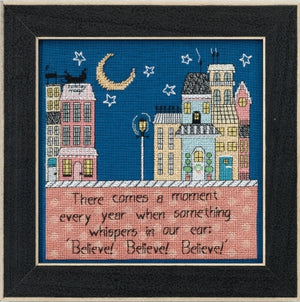 Believe Believe Believe Cross Stitch Kit