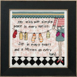 Simple Wish Cross Stitch Kit