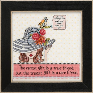 Rarest Friend Cross Stitch Kit