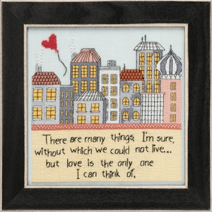 Love is the Only One Cross Stitch Kit