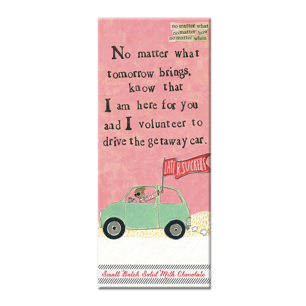 Getaway Car Chocolate Bar