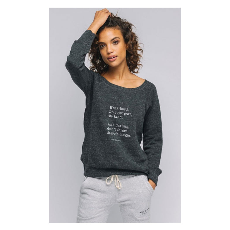 """Don't Forget There's Magic""Cozy Pullover"