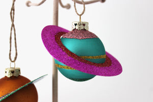 Planets in Alignment Ornament (Magenta)