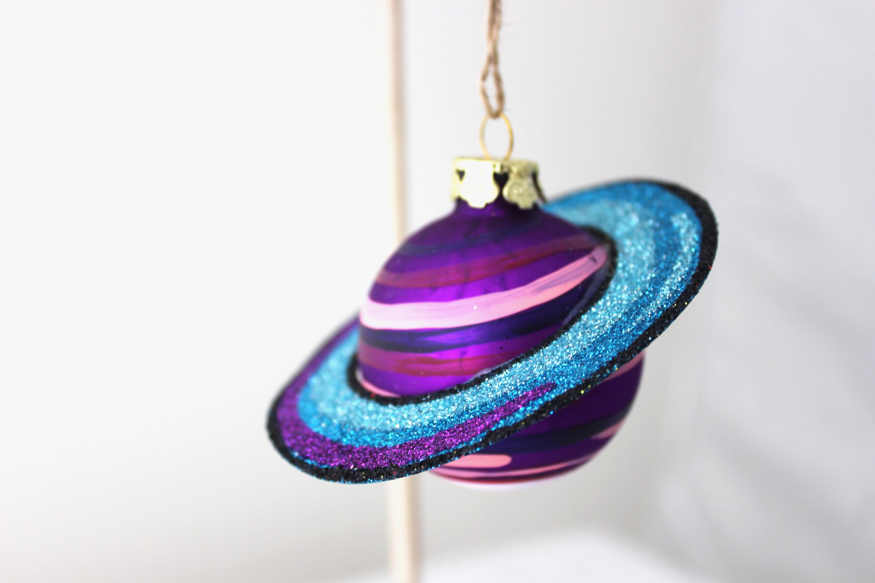 Planets in Alignment Ornament (Purple)