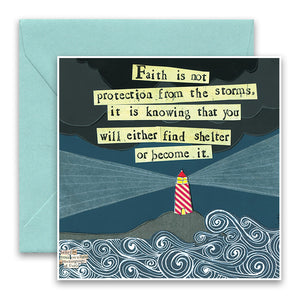 Find Shelter Greeting Card