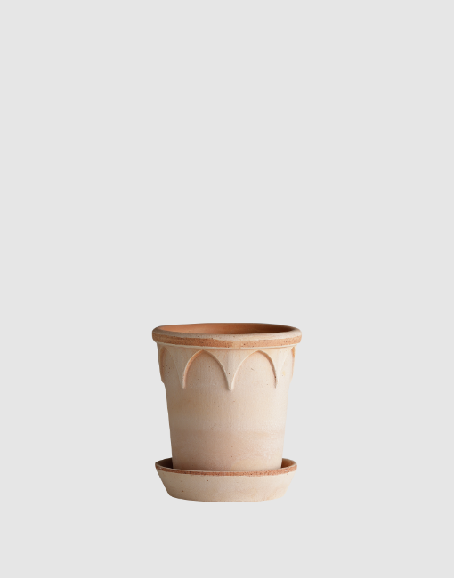 12cm Elizabeth Clay Plant Pot | By Bergs Potters
