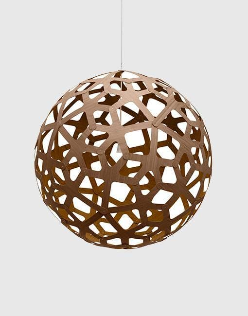 "Coral Ceiling Pendant | By David Trubridge Ceiling Pendant David Trubridge 1000mm (39"") +£490 Caramel"